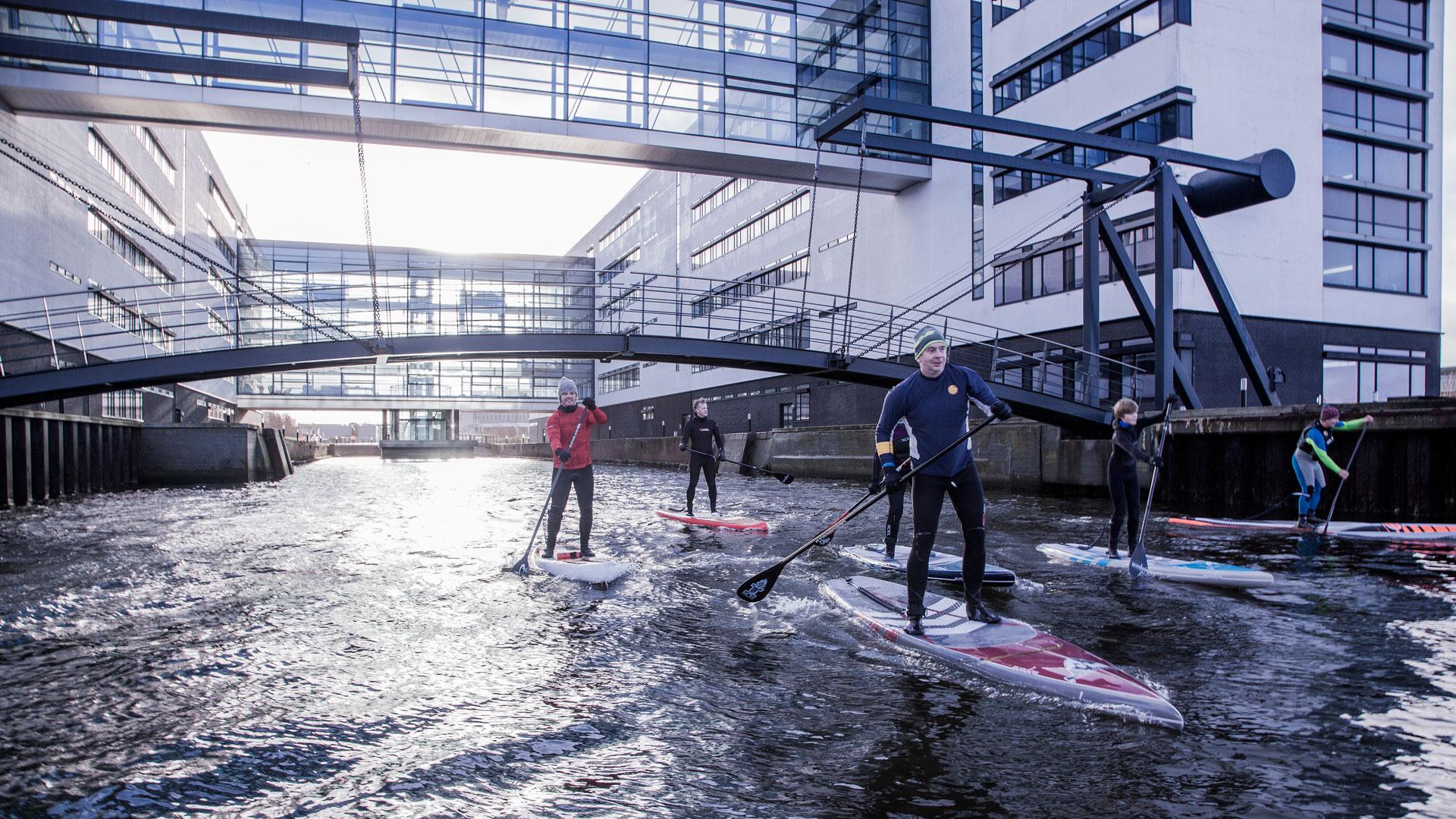 SUP-Safari i Aalborg - image sup-1 on https://www.vildmedvand.dk