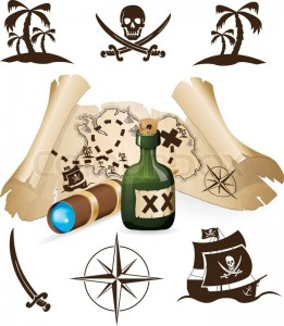 Skive Søsports Havn - image 5293463-treasure-map-pirate-collection-261x300 on https://www.vildmedvand.dk