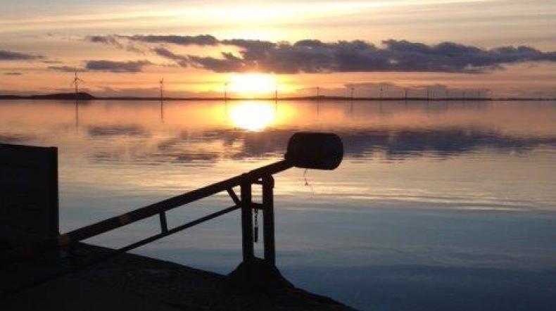 Solnedgangstræf på Skaaningebro - image solnedgang_attrup_havn on https://www.vildmedvand.dk