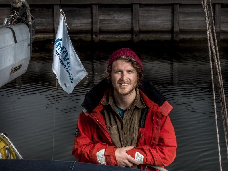 Theis er ambassadør for Havnens Dag 2018: HAVET GIVER MIG RO - image CF037849 on https://www.vildmedvand.dk