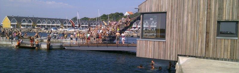 Blå Flag – Fang og smag – Velkommen på Havnen - image Hasle-Havnebad-2013 on https://www.vildmedvand.dk