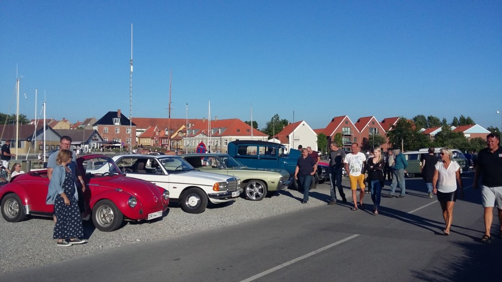 Veteran Biler på Bogense Havn 1