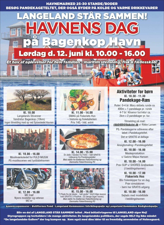 Havnens Dag på Bagenkop Havn 1