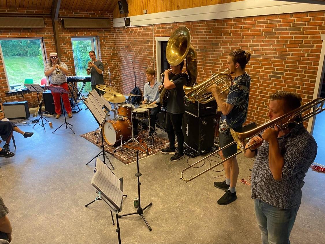 Egense Sejlklub - Hammer Hills Brass Band Gratis koncert 1