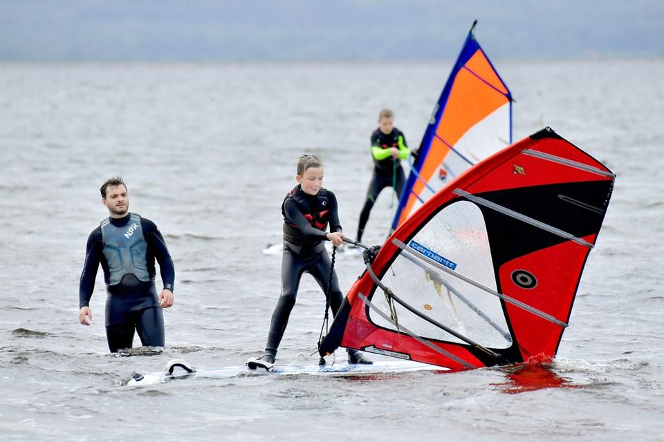 Windsurf træning 1